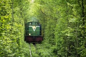 Поезд в тоннеле любви