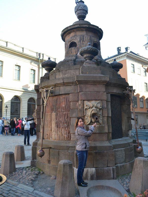 фонтан без воды