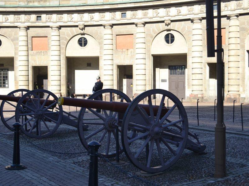 Стокгольм пушки
