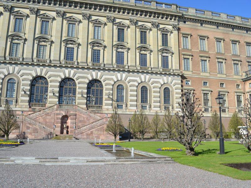 Внутренний дворик дворца, Стокгольм