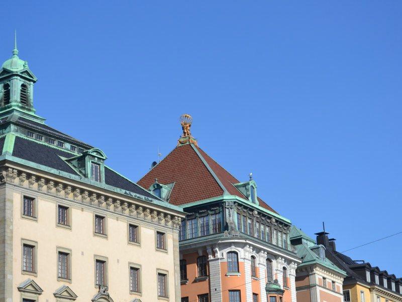 Крыши Стокгольм