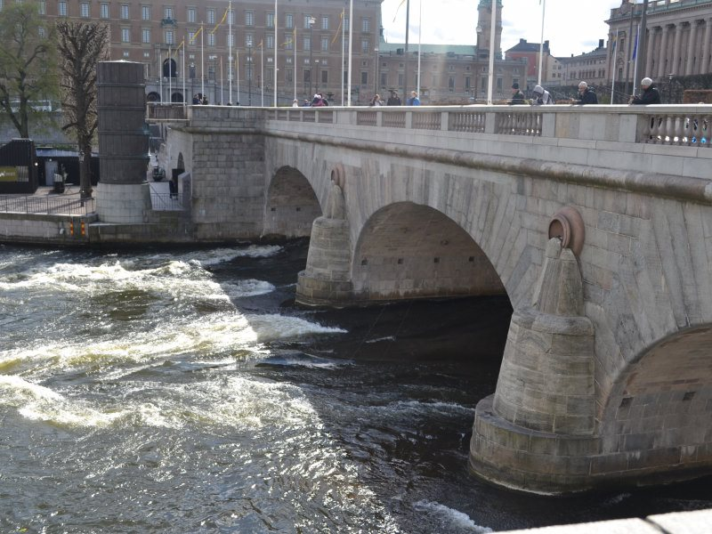 Стокгольм, мост