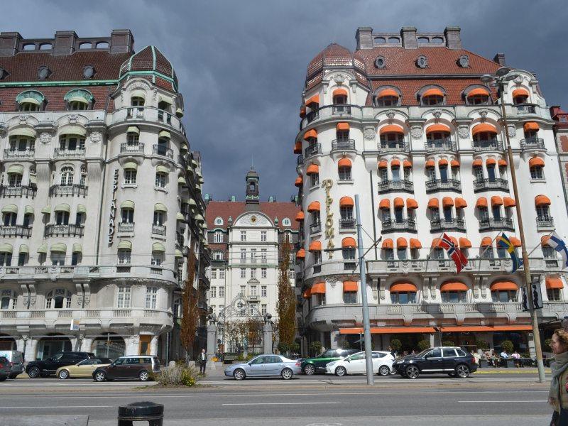 Дома-близнецы Стокгольм