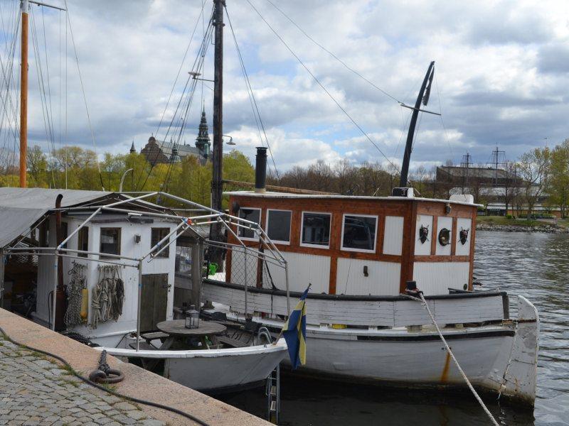 Стоянка яхт