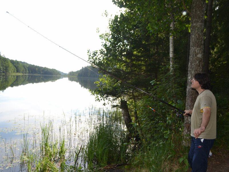 Рыбалка на Молосовских озерах