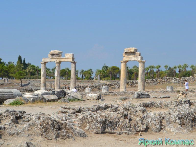 развалины Иераполиса